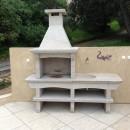 Barbecue en Granit Jardin du Portugal GR61F