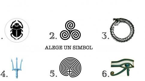 Alege un simbol antic pentru a vedea de ce are sufletul tău nevoie