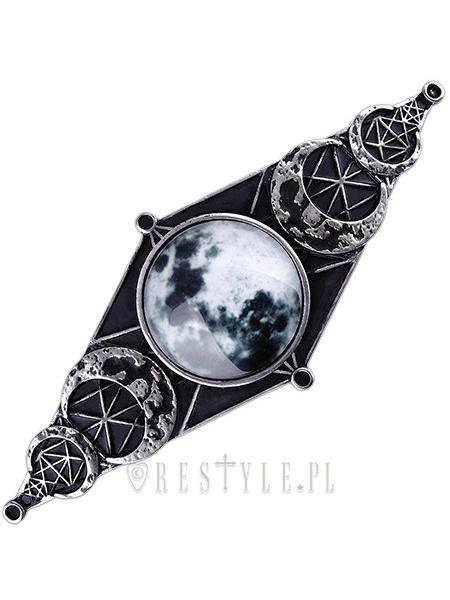 Clamă de păr gotică Geometrie lunară