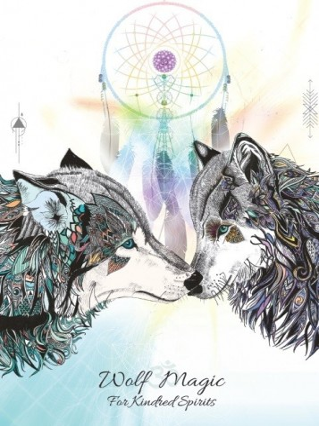 Felicitare Wolf Magic - pentru suflete pereche