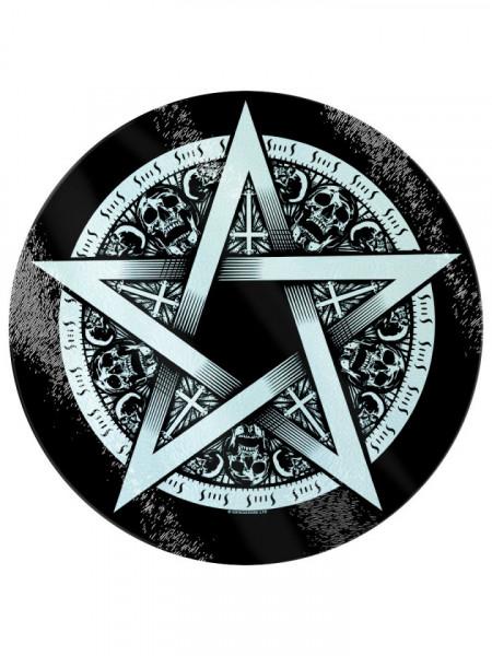 Tocator sticla Pentagrama 31 cm