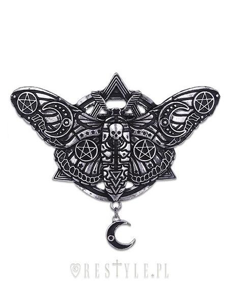 Clamă de păr gotică Occult Moth
