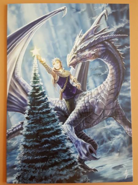 Felicitare Crăciun Poveste de iarnă