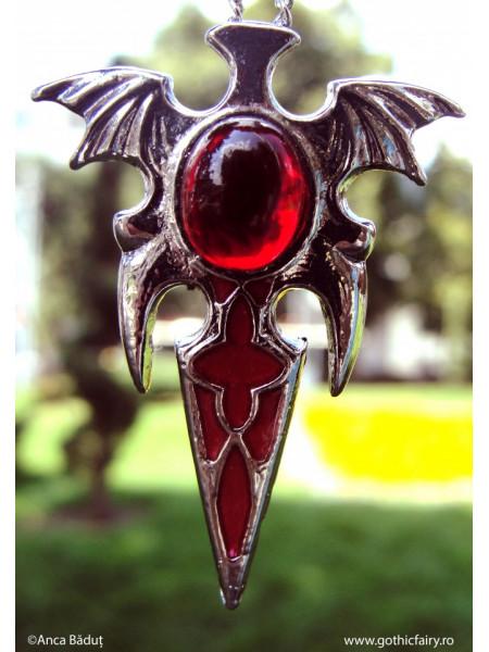 Pandantiv amuletă Sânge de vampir
