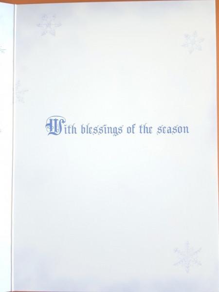 Felicitare Crăciun Dragonul de zăpadă