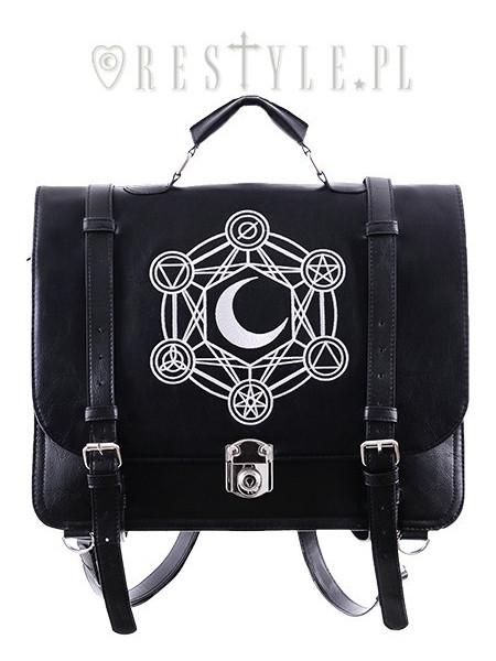 Geantă - rucsac gotică Moon messenger