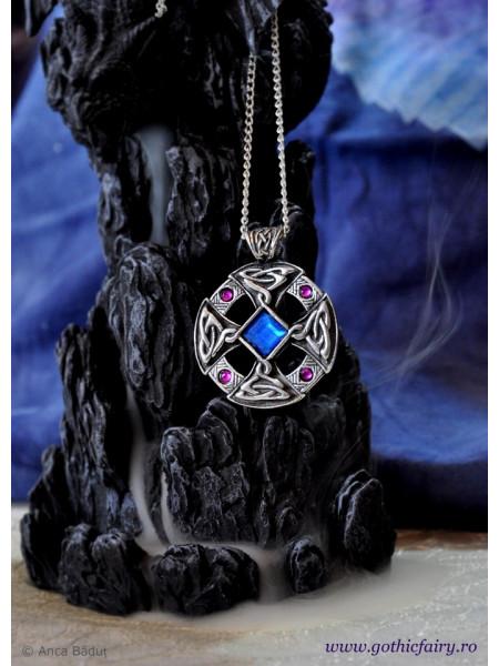 Pandantiv viking Cruce celtică