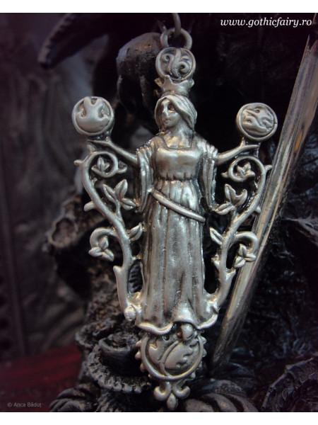 Pandantiv Zeița Gaia și elementele