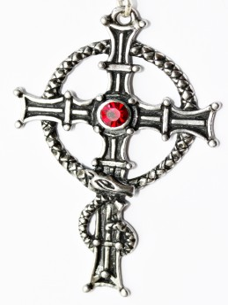 Pandantiv celtic Crucea Sf Columba