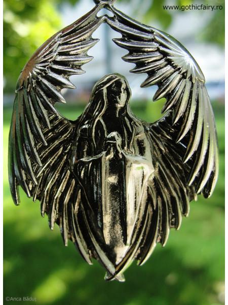 Pandantiv înger gotic Rugă pentru cei căzuți