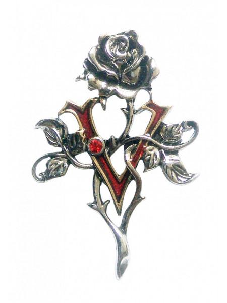 Pandantiv trandafirul vampirului
