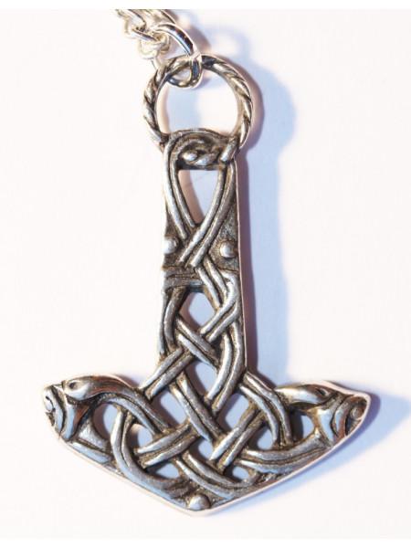 Pandantiv viking Ciocanul familiei Aesir