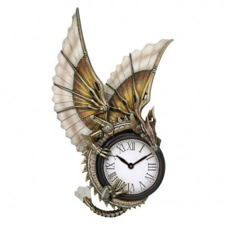 Ceas de perete steampunk Clockwork Dragon