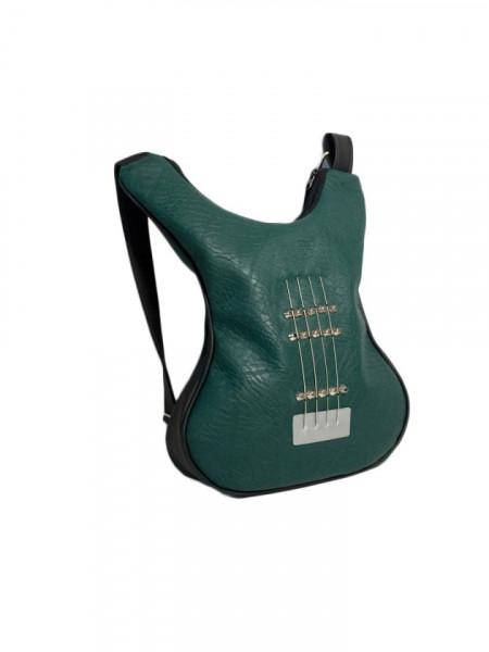 Geanta in forma de chitara rock Green Simplicity
