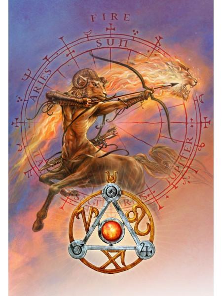Pandantiv Talismanul elementelor - Zodii de Foc