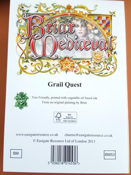 Felicitare medievală În căutarea sfântului Graal