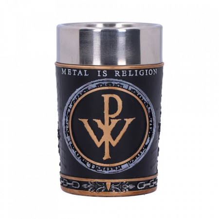 Pahar shot Powerwolf - Metal is Religion 8 cm