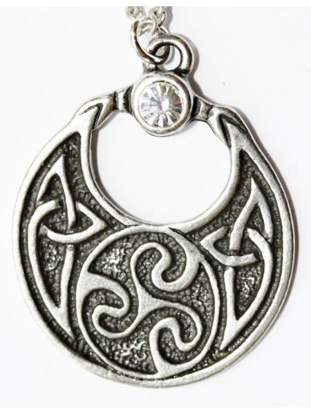 Pandantiv celtic Amuleta reginei Boudicca