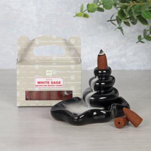 Conuri tamaie parfumata Backflow Satya - Salvie alba