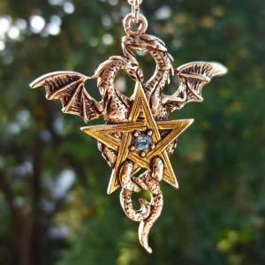 Pandantiv talisman Steaua dragonilor