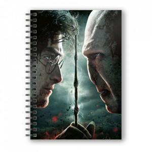 Agenda/Jurnal coperta 3D licenta Harry Potter - Harry Potter vs Voldemort