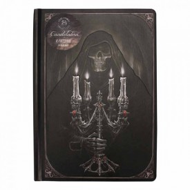 Anne Stokes A5 Notebook - Candelabra