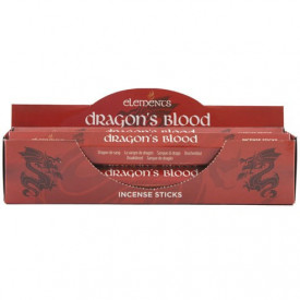 Betisoare tamaie parfumata Elements - Sange de Dragon