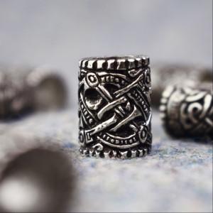 Bijuterii vikinge pentru barba/par Valsgarde