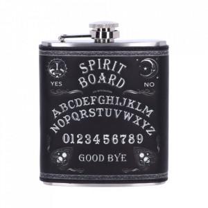 Butelcuta (plosca) inox pentru bauturi alcoolice Ouija Spirit Board 200 ml