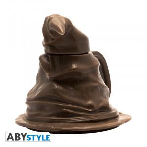 Cana 3D cu capac licenta Harry Potter - Sorting Hat