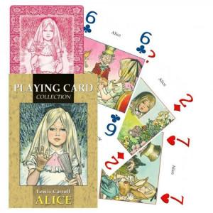 Carti de joc Alice in tara Minunilor