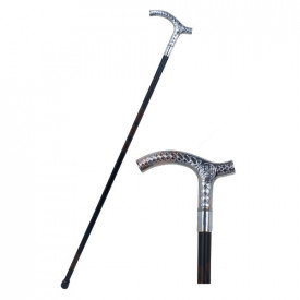 Celtic symbols decorative walking stick