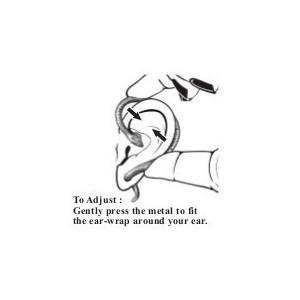 Cercel ear cuff Ureche de elf Elvyn- stânga