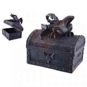 Cutie pentru bijuterii Aparatorul Comorii 13cm