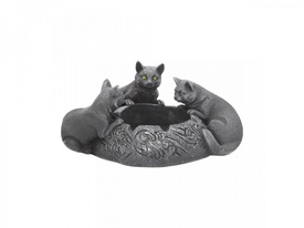 Feline Trio Ashtray 17.7cm