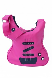 Geanta in forma de chitara rock Pink Is The Color Of Passion