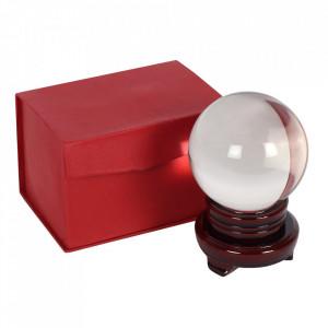 Glob de cristal cu suport 10 cm