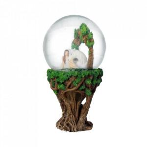 Glob de zapada Zana si Unicorn Inima Curata - Anne Stokes - 18 cm