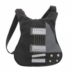 Guitar-shaped bag Black Legend