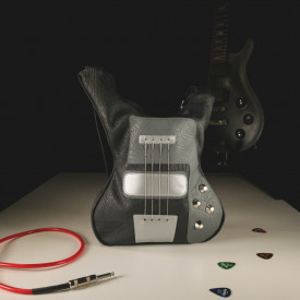 Guitar-shaped bag Black Mass