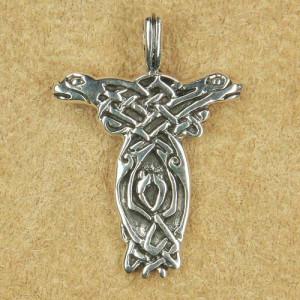Pandantiv argint Câinii celtici