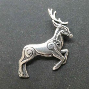 Pandantiv argint Cerb celtic