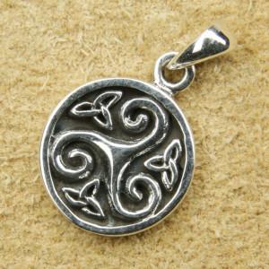 Pandantiv argint Triskelion 2.3cm