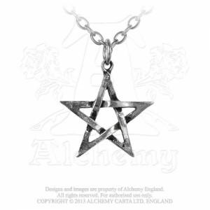 Pandantiv Pentagrama deschisa