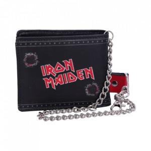 Portofel barbati cu lant Iron Maiden 10 cm