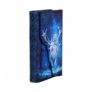 Portofel lung embosat Fantasy Forest - Anne Stokes - 19 cm