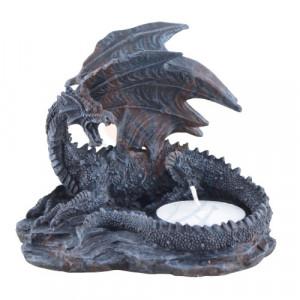 Set doua suporturi lumanari Dragon