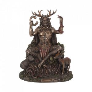Statueta Cernunnos si regatul sau