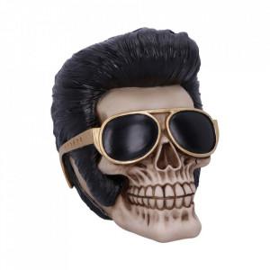 Statueta craniu Elvis Presley - Uh Huh 17cm