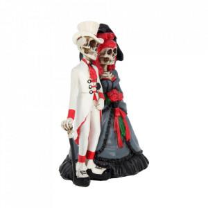 Statueta cuplu gotic Etern langa tine 14 cm